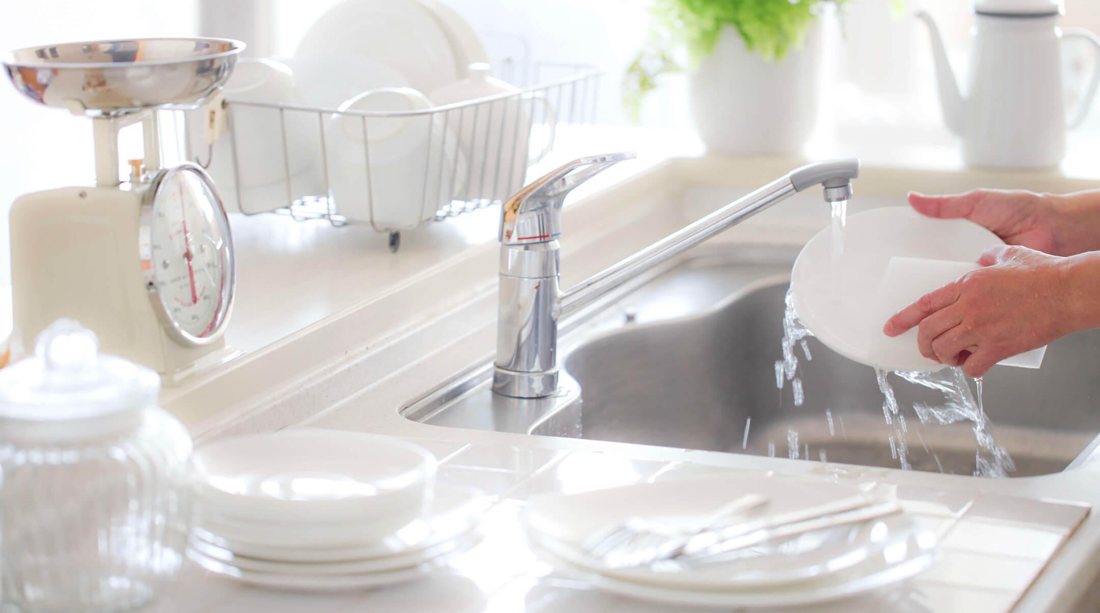 faire la vaisselle la main oui mais une main verte maison verte. Black Bedroom Furniture Sets. Home Design Ideas